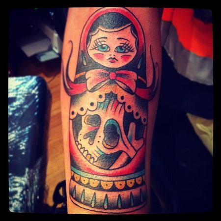 tattoos/ - Doll and Skull - 71070